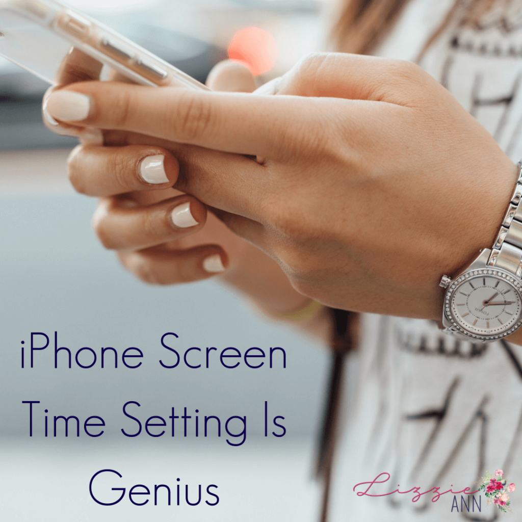 iPhone Screen Time Setting Is Genius