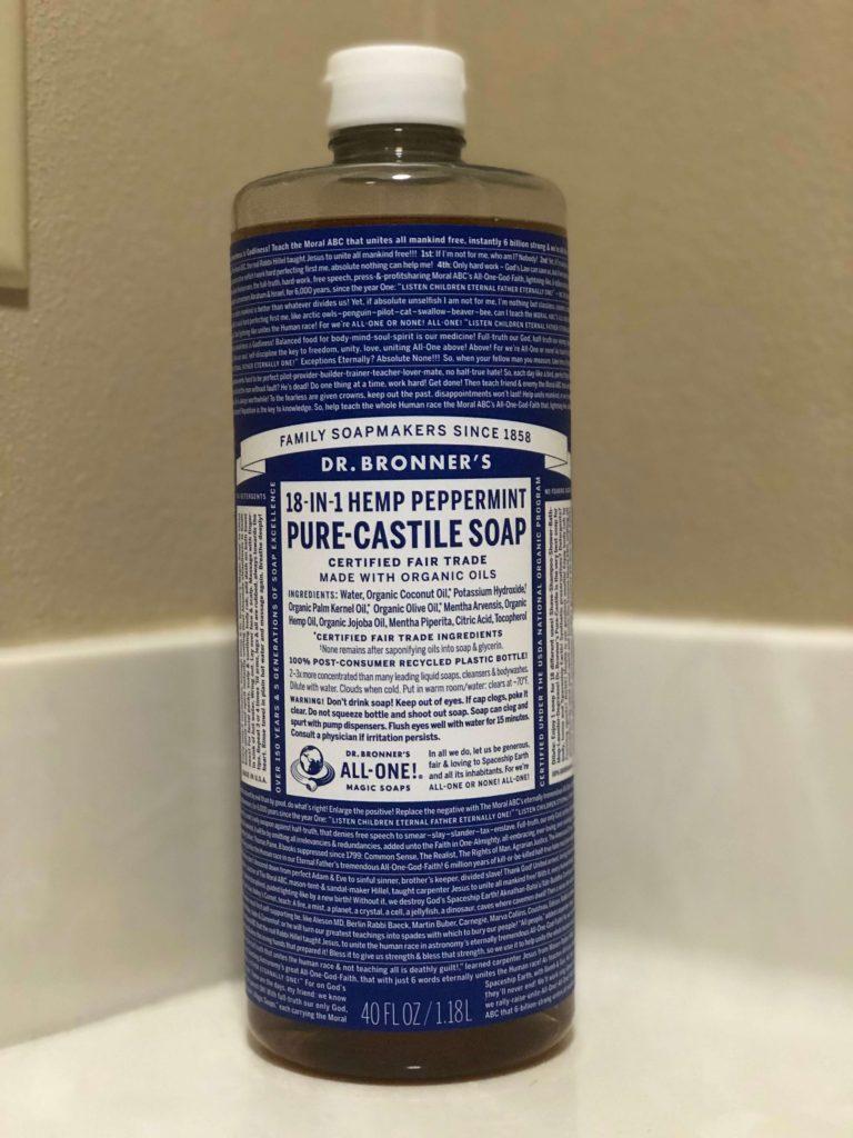 Dr Bronners Pure-Castilie Liquid Soap