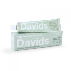 Davids Premium Natural Toothpaste (Fluoride Free)