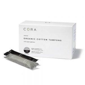 Cora Organic Tampons Mix Pack Regular/Super