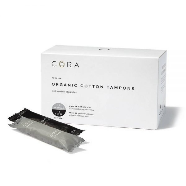 Cora Organic Tampons Mix Pack Regular/Super