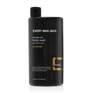 Every Man Jack Volcanic Clay Oil Defense Body Wash