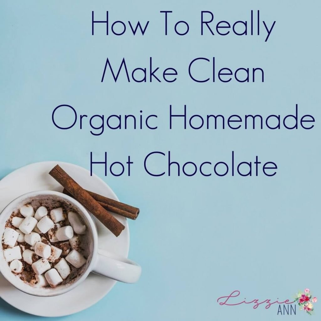 How To Really Make Clean Organic Hot Chocolate